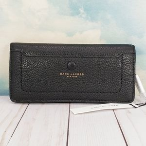Marc Jacobs Open Face Leather Wallet